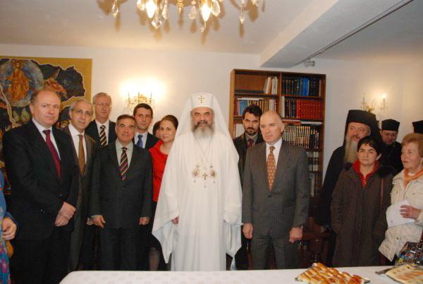 Ambasadorii tarilor ortodoxe la Madrid