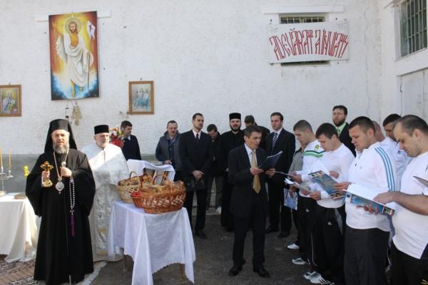 4 aprilie 2010: Vizită chiriarhală la Penitenciarul Galaţi