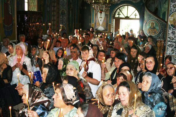 Sfinţirea bisericii