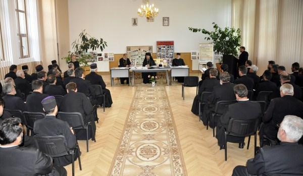 Şedinţa pastoral-misionară la Protopopiatul Tecuci