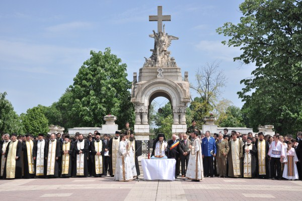 13 mai 2010: Cinstirea eroilor neamului la Galaţi