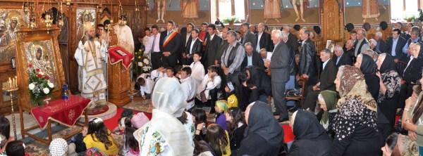 9 mai 2010: Slujbă misionară în parohia Matca III, Protoieria Tecuci