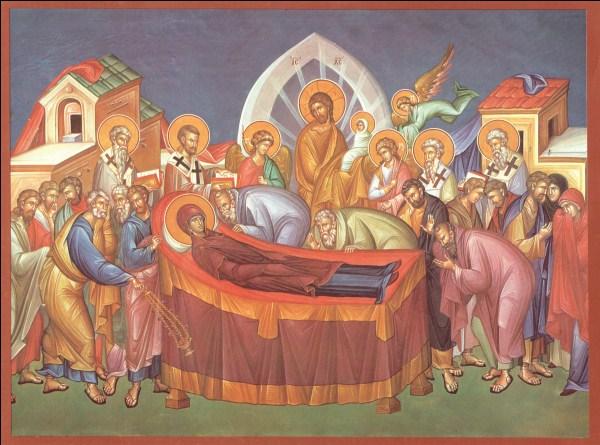 15-Adormirea Maicii Domnului