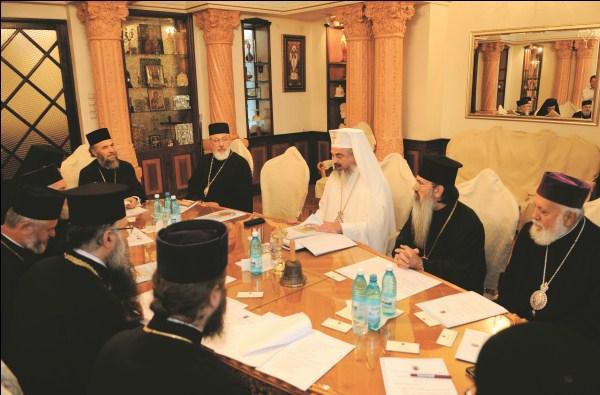 3 septembrie 2010: Şedinţa de lucru al Sinodului Mitropolitan al Mitropoliei Munteniei şi Dobrogei