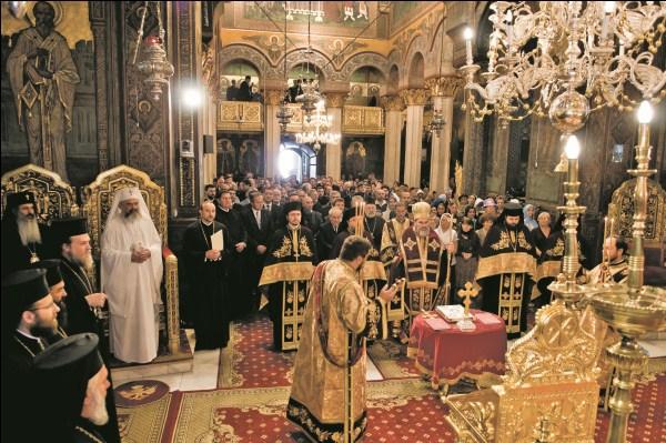 Slujba Te Deumului în Catedrala Patriarhală la constituirea Adunării Naţionale Bisericeşti a Bisericii Ortodoxe Române pentru perioada 2010-2014