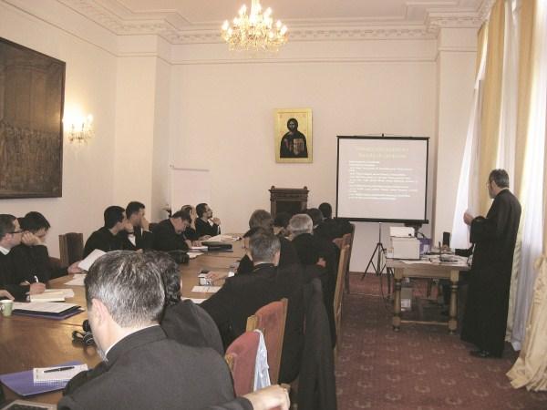Prezentarea raportului Arhiepiscopiei Dunării de Jos