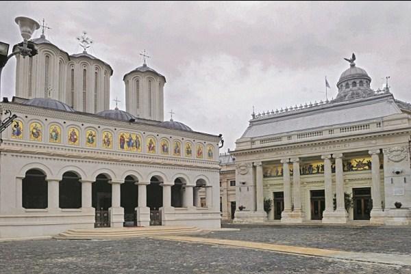 Catedrala şi Palatul Patriarhiei din Bucureşti