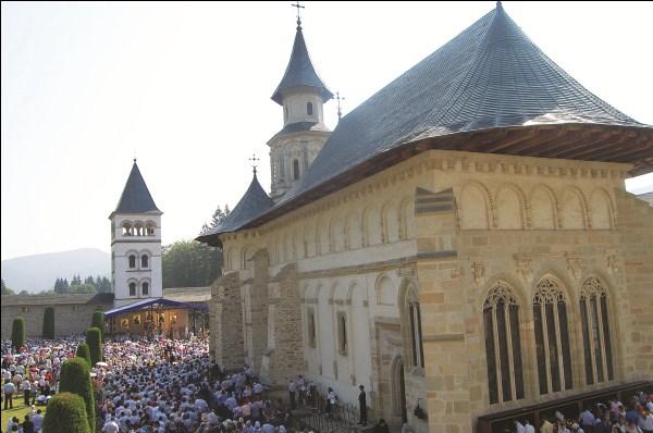 Mănăstirea Putna, în ziua de hram