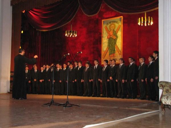 Concert al corului Seminarului Teologic din Galaţi