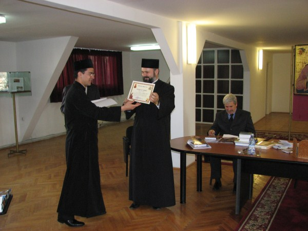 Înmânarea diplomelor de onoare