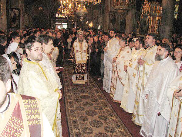 Sfânta Liturghie din ziua hramului oraşului Brăila