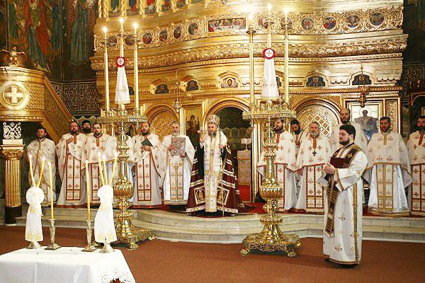Te Deum la începutul lucrărilor Adunării Eparhiale