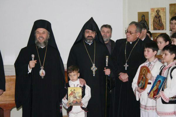 13 martie 2011: Vernisarea expoziţiei de icoane din Duminica Ortodoxiei