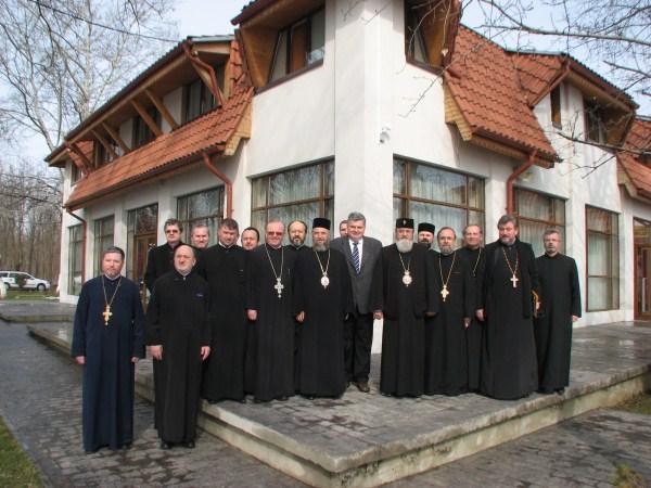 Colegiul decanilor de la facultăţile teologice din ţară la Lacu Sărat