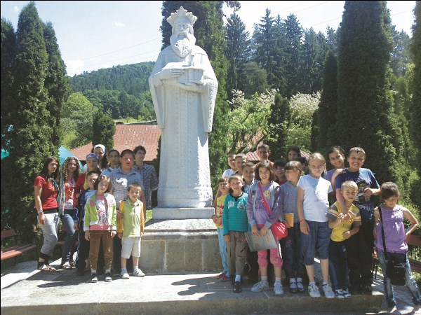 Pelerinaj la Mănăstirea Bistriţa
