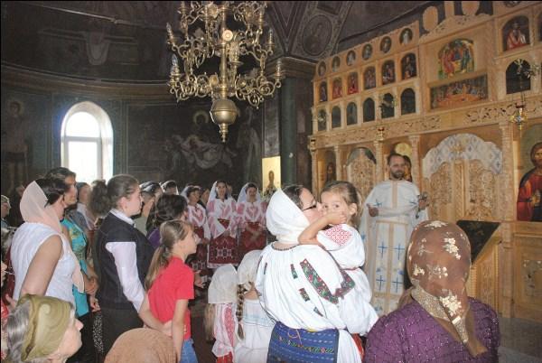 Bucurie duhovnicească la hramul bisericii