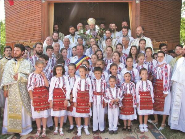 24 iunie 2011: Sărbătoarea hramului la Mănăstirea voievodală Măxineni