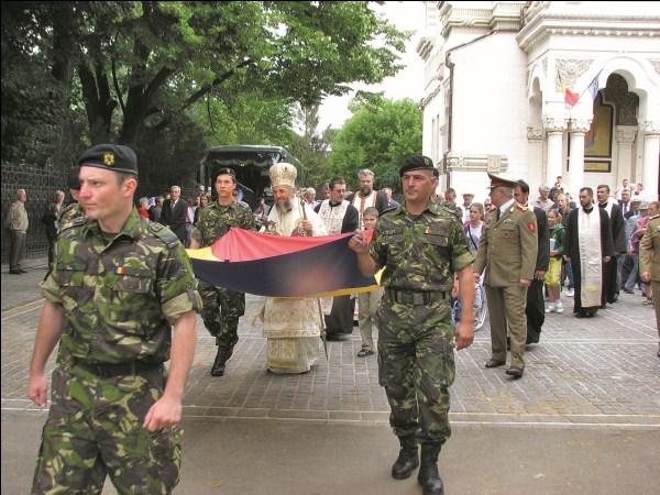 26 iunie 2011: Ziua Drapelului la Catedrala din Galaţi
