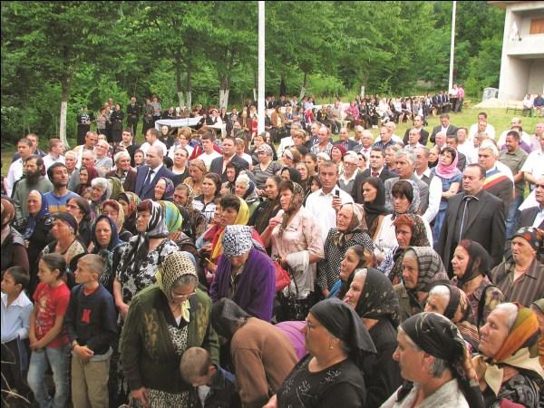 Pelerini la sărbătoarea hramului