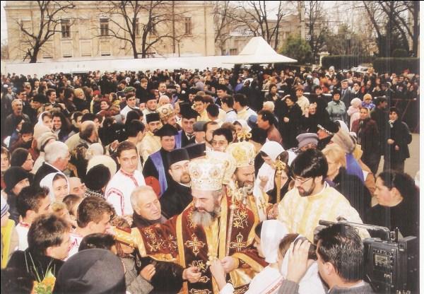 30 noiembrie 2003 - Preafericitul Părinte Patriarh Daniel la hramul oraşului Galaţi