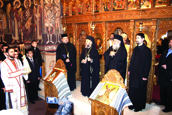 Sfânta Liturghie săvârşită în capela seminarului