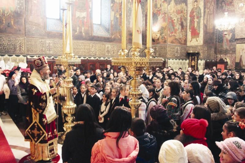 Sfânta Liturghie arhierească la Catedrala din Galaţi