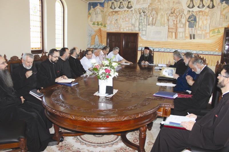 14 iulie 2012: Lucrările Consiliului Eparhial