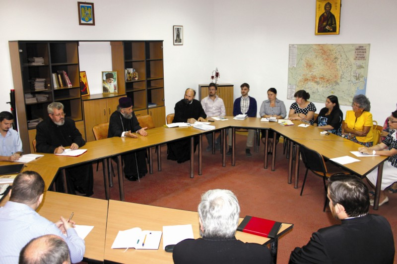 Cursuri cu profesorii de la Seminarul Teologic din Galaţi