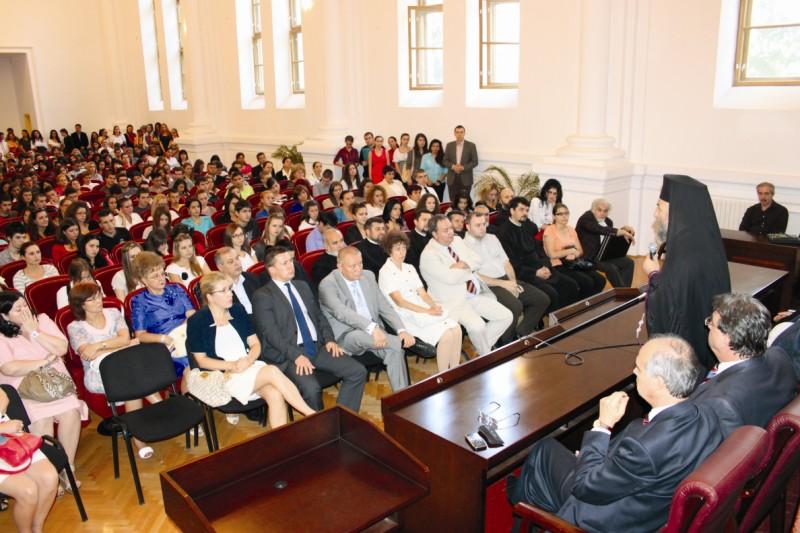 Deschiderea cursurilor universitare la Facultatea de Istorie, Filozofie şi Teologie din Galaţi