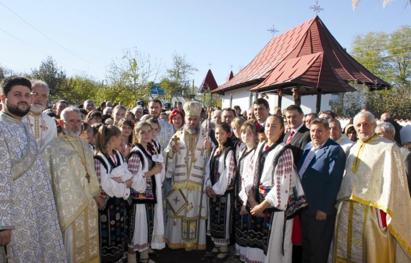 3 noiembrie 2012: Sărbătoare la Ţepu