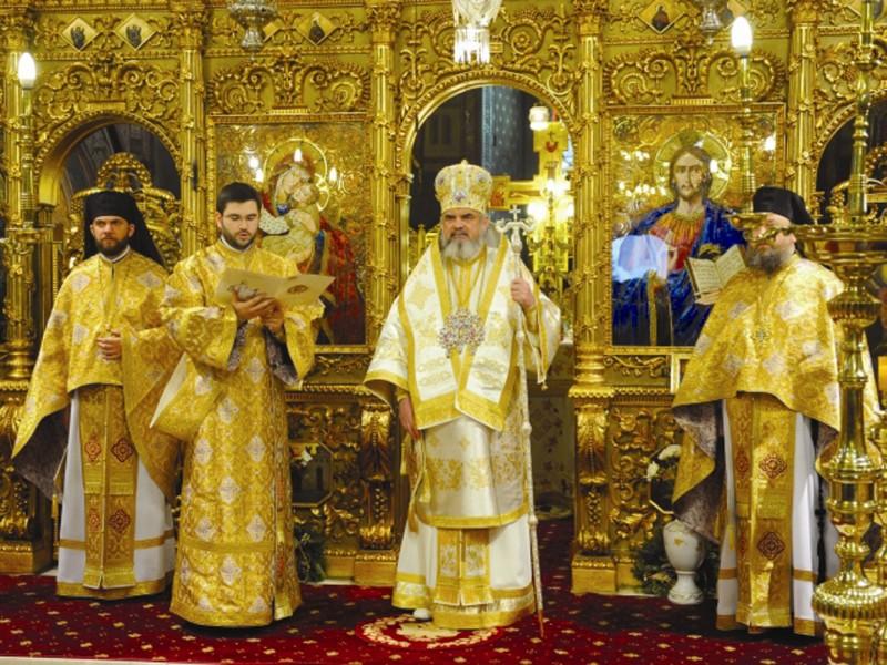 Preafericitul Părinte Patriarh Daniel proclamând în mod oficial Anul 2013 ca An omagial al Sfinţilor Împăraţi Constantin şi Elena în Patriarhia Română