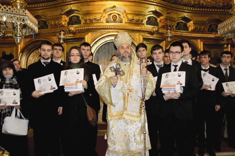 Premierea concurenţilor în Catedrala arhiepiscopală din Galaţi