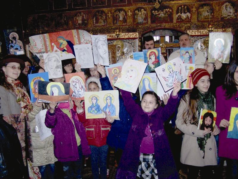 "Duminica Ortodoxiei, la Parohia ,,Adormirea Maicii Domnului""- Tecuci"