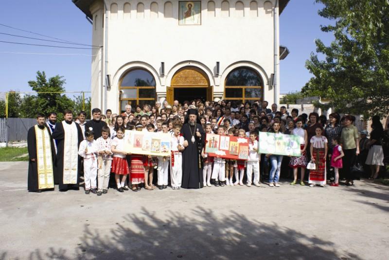 20 mai 2009: Deschiderea sărbătorilor închinate Sfinţilor Împăraţi, ocrotitorii oraşului Făurei