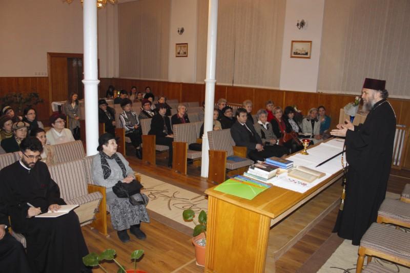 Chiriarhul Dunării de Jos participând la lucrările S.N.F.O.R. Galaţi