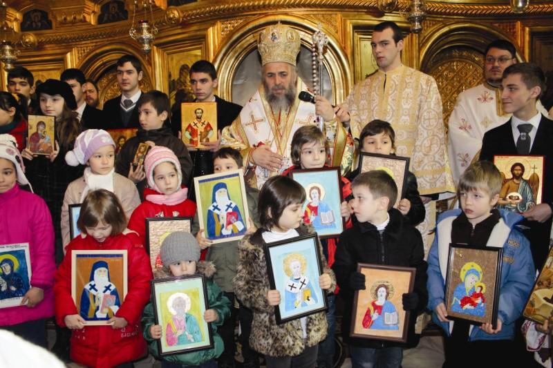 Cinstirea Icoanei la Catedrala arhiepiscopală din Galaţi
