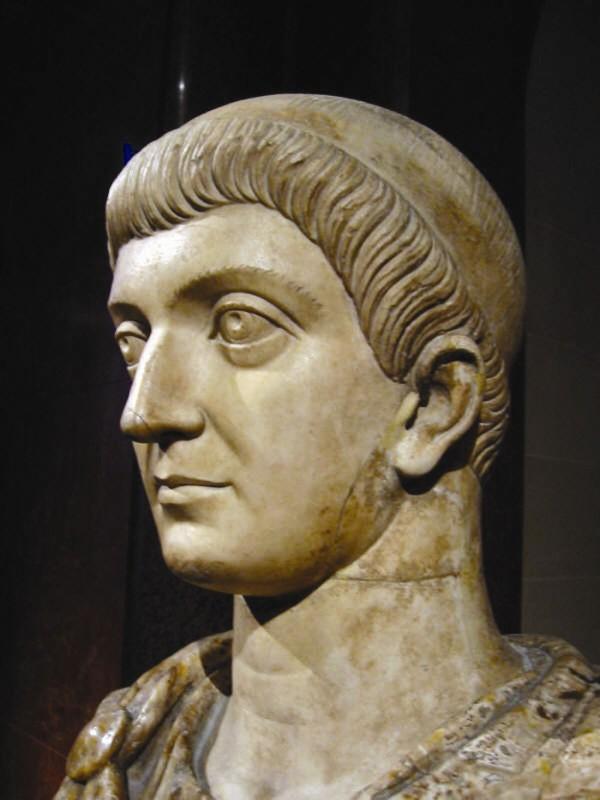 Împăratul Constantin cel Mare