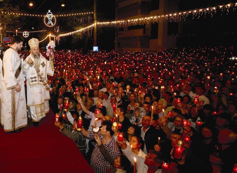 Învierea Domnului la Catedrala Dunării de Jos