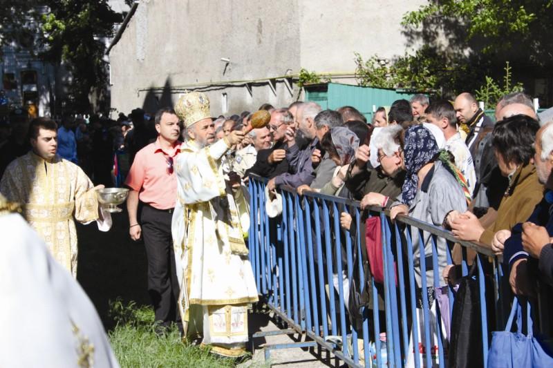 Binecuvântarea pelerinilor veniţi la sărbătoare