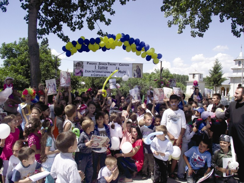 Activitate educaţională de Ziua Copilului la Costieni