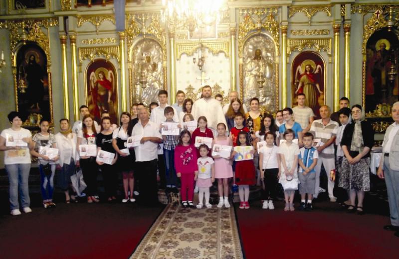 Premierea câştigătorilor concursului de religie