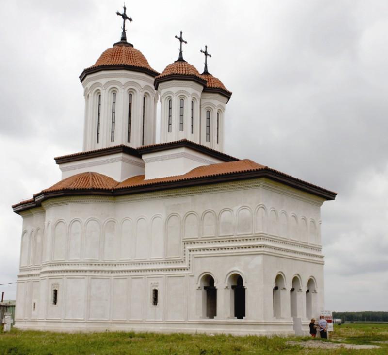 Restaurarea vechii biserici voievodale a Mănăstirii Măxineni