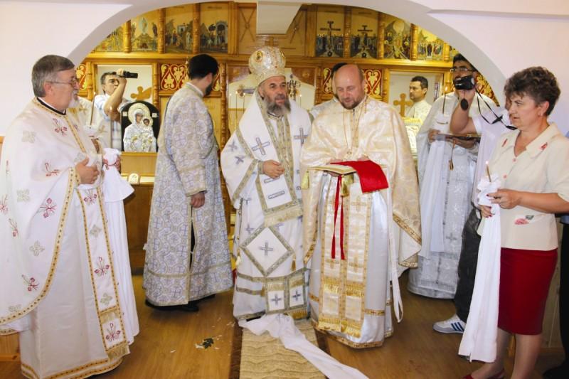 Acordarea rangului bisericesc de iconom stavrofor preotului capelan al instituţiei