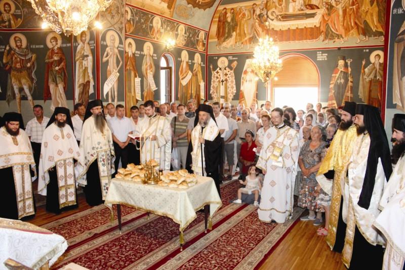 Slujba de priveghere la hramul mănăstirii