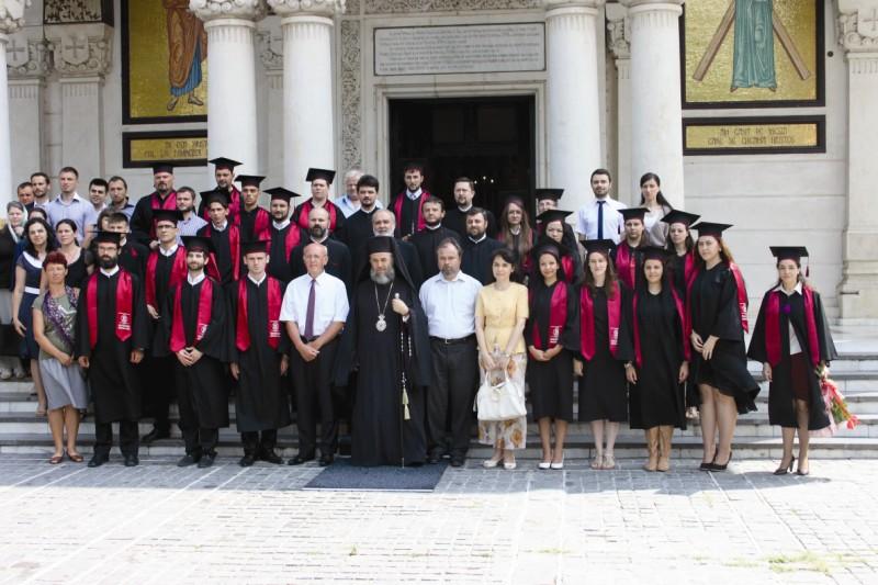 Promoţia 2013 a Departamentului teologic din cadrul Facultăţii de Istorie, Filosofie şi Teologie  din Galaţi