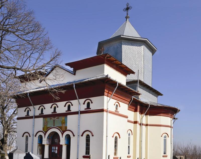 Biserica din localitatea brăileană Spiru Haret