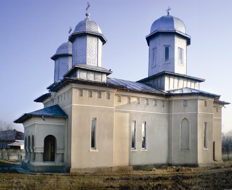 Lăcaşul sfânt din localitatea brăileană Constantin Gabrielescu