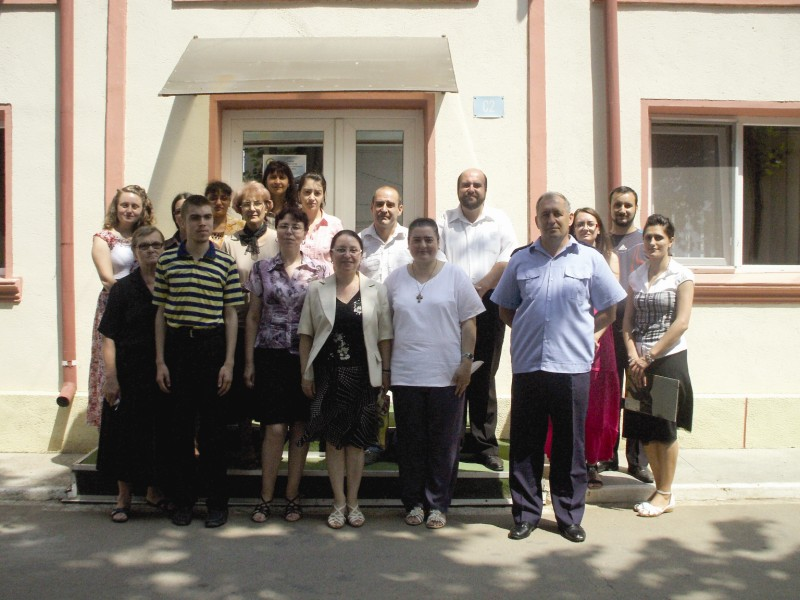 Vizita studenţilor teologi la Penitenciarul din Brăila