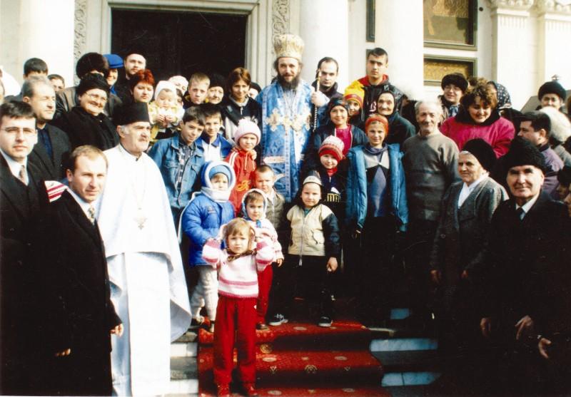 2002: Prăznuirea Sfântului Cuvios Ioan Casian, la Catedrala din Galaţi