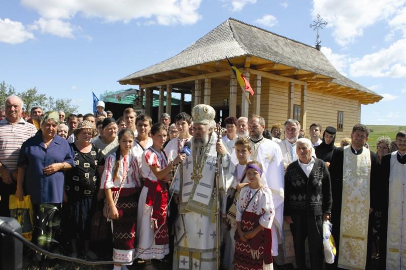 21 iulie 2013: Sărbătoarea Schitului Zimbru din nordul judeţului Galaţi
